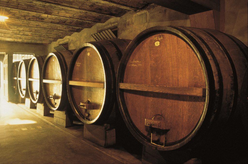 Vintønder i Montepulciano